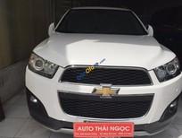 Bán ô tô Chevrolet Captiva đời 2015, màu trắng số tự động, 830tr