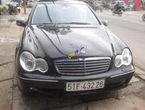 Cần bán Mercedes C240 đời 2004, màu đen