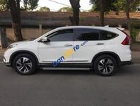 Cần bán Honda CR V 2.4 đời 2015, màu trắng, nhập khẩu