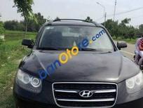 Cần bán xe Hyundai Santa Fe AT năm 2008, màu đen