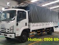 Cần bán xe Isuzu 8.2 tấn thùng bạt đời 2016, màu trắng