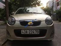 Bán xe cũ Kia Morning SX đời 2012, màu ghi vàng