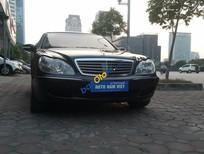 Cần bán lại xe Mercedes S500 đời 2003, màu đen, nhập khẩu số tự động giá cạnh tranh