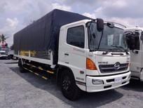 Xe tải Hino FG8JPSL thùng mui bạt 8m8, giá 1 tỷ 160 triệu