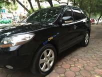 Cần bán Hyundai Santa Fe MLX đời 2008, màu đen chính chủ