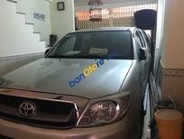 Cần bán Toyota Hilux năm 2009, màu bạc