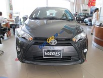 Bán Toyota Yaris E 2016, màu xám