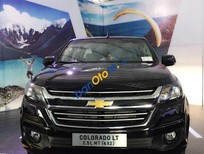 Bán Chevrolet Colorado năm 2016, màu đen, giá 619tr