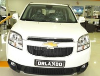 Bán ô tô Chevrolet Orlando 2016, màu trắng xe 7 chỗ cho gđ/kinh doanh giá cạnh tranh
