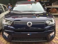 Bán ô tô Ssangyong Tivoli 1.6 đời 2016, màu xanh lam, nhập khẩu