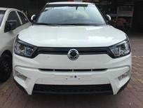 Bán ô tô Ssangyong Tivoli 1.6 đời 2016, màu trắng, nhập khẩu, 630tr