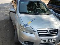 Cần bán xe cũ Daewoo Gentra đời 2008, màu bạc