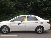 Bán Toyota Vios MT sản xuất 2006, màu trắng số sàn, 296 triệu