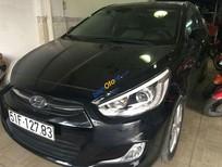 Bán ô tô Hyundai Accent blue đời 2014, màu đen số tự động
