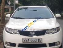 Cần bán xe Kia Cerato AT sản xuất 2012, màu trắng