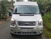 Cần bán Ford Transit SLX 2015, màu bạc, số sàn