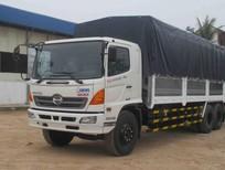 Bán xe tải Hino FL thùng mui bạt,2016 màu trắng Liên hệ 0908.065.998