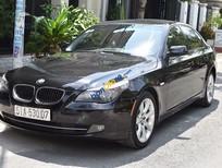 Cần bán lại BMW 5 Series 523i đời 2007, màu đen, số tự động