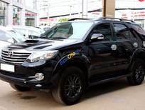 Bán Toyota Fortuner G sản xuất 2015, màu đen số sàn