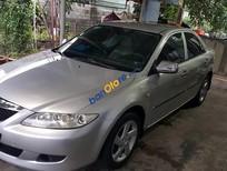 Cần bán lại xe Mazda 6 năm 2004, màu bạc