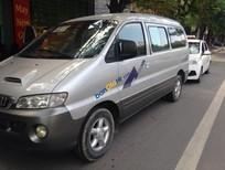 Bán Hyundai Starex đời 2003, màu bạc