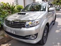 Bán Toyota Fortuner G đời 2015, màu bạc, nhập khẩu