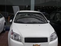 Bán ô tô Chevrolet Aveo LT 2017, màu bạc, 459tr giảm ngay 30tr