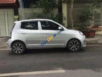 Cần bán Kia Morning SX đời 2012, màu bạc