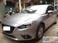Bán xe Mazda 3 1.5 AT đời 2016, màu bạc