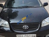 Cần bán xe Toyota Vios MT đời 2005, màu đen, giá tốt