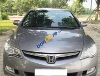 Bán Honda Civic 2.0AT đời 2006, màu bạc số tự động