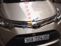 Chính chủ bán xe Toyota Vios G năm 2014, màu vàng