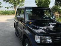 Cần bán lại xe Hyundai Galloper đời 2009, màu đen