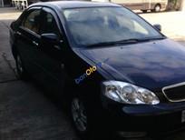 Cần bán lại xe Toyota Corolla J đời 2003, màu đen chính chủ