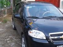 Bán ô tô Chevrolet Aveo đời 2012, màu đen