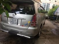 Cần bán Toyota Innova G đời 2007, màu bạc số sàn, giá chỉ 460 triệu