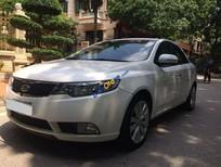 Cần bán xe cũ Kia Cerato 1.6 AT đời 2010, màu trắng số tự động, 515 triệu