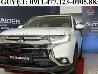 Bán Mitsubishi Outlander mới 2017, màu trắng, xe nhập - Lh Lê Nguyệt: 0911.477.123