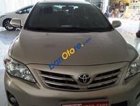 Cần bán Toyota Corolla altis sản xuất 2013, màu vàng, giá cạnh tranh
