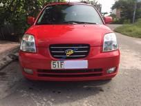 Bán xe cũ Kia Morning AT đời 2007, màu đỏ, nhập khẩu xe gia đình, giá tốt