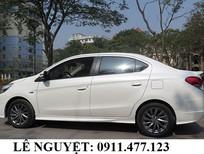 Cần bán Mitsubishi Attrage mới 2017, màu trắng, nhập khẩu. Liên hệ: Lê Nguyệt: 0911.477.123