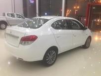 Cần bán Mitsubishi Attrage sản xuất 2016, màu trắng, xe nhập