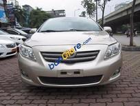 Cần bán Toyota Corolla altis đời 2010, màu vàng, 609 triệu