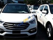 Bán Hyundai Santa Fe bản thường AT đời 2016, màu trắng