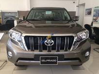 Toyota Prado 2.7 mới 2017 nhập khẩu chính hãng, xe giao sớm