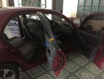 Cần bán lại xe Daewoo Lanos đời 2002, màu đỏ như mới, 135 triệu