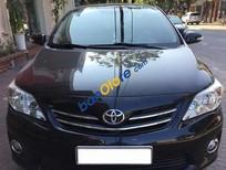 Bán Toyota Corolla altis 1.8G đời 2011, màu đen