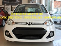 Cần bán xe Hyundai i10 2017  Đà Nẵng, màu trắng, LH: Trọng Phương – 0935.536.365, hỗ trợ vay trả góp 90% giá trị xe