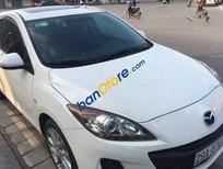 Cần bán Mazda 3 AT sản xuất 2012, màu trắng, 605 triệu