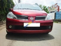 Bán Nissan Tiida sản xuất 2008, màu đỏ
